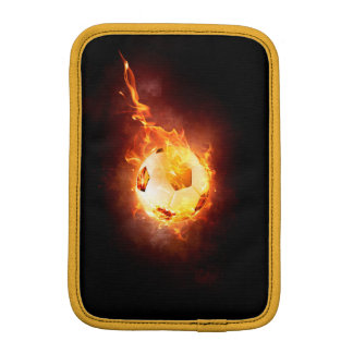 Football under Fire, Ball, Soccer iPad Mini Sleeves