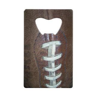 Football Wallet Bottle Opener