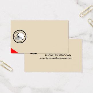 Football Warrior Business Card