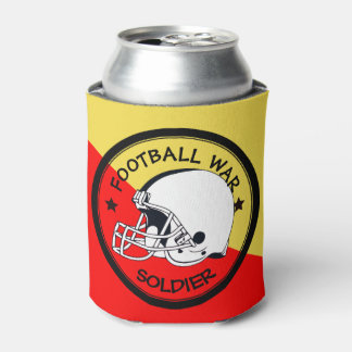 Football Warrior Can Cooler