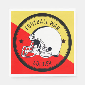 Football Warrior Disposable Napkin