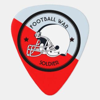 Football Warrior Guitar Pick