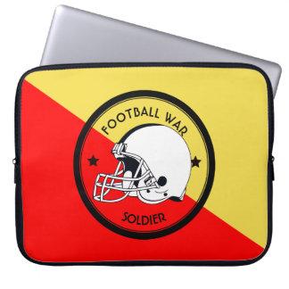 Football Warrior Laptop Sleeve
