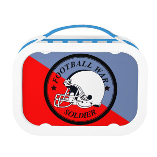 Football Warrior Lunch Box