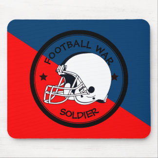 Football Warrior Mouse Pad