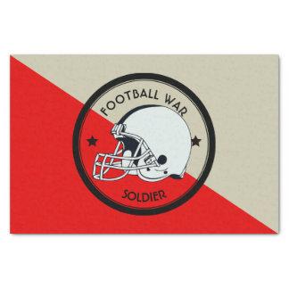 Football Warrior Tissue Paper