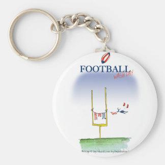 Football wash day, tony fernandes keychain