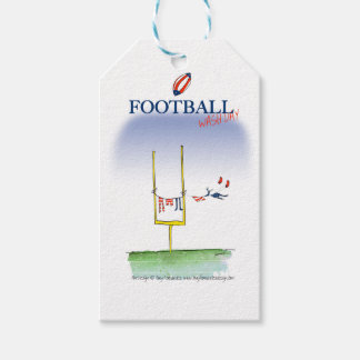 Football wash day, tony fernandes pack of gift tags