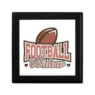 Football Widow Jewelry Box