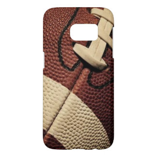 Football with laces samsung galaxy s7 case