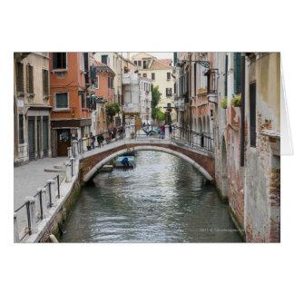 Footbridge in Venice Card