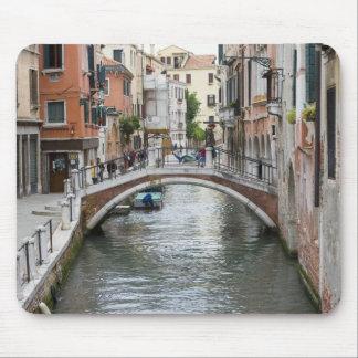 Footbridge in Venice Mouse Pad