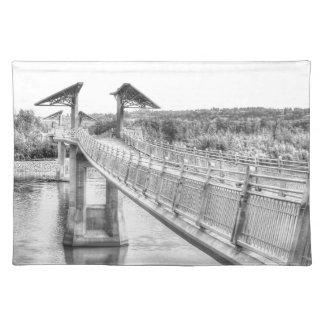 Footbridge over the North Saskatchewan River Placemat
