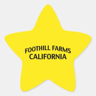Foothill Farms California Sticker