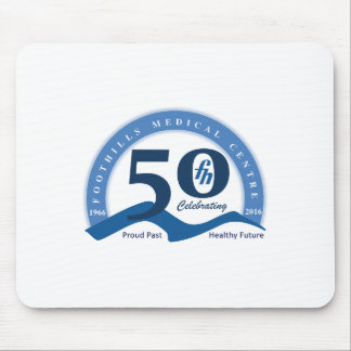Foothills Turns Fifty Logo Mouse Pad