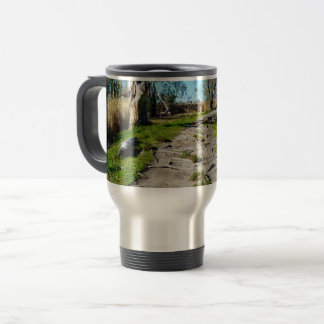 Footpath Of Nature Riverland Australia, Travel Mug