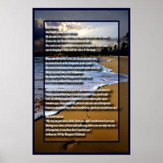 Footprint-4 Posters