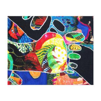 Footprint. Canvas Print