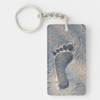 Footprint Impression - Keychain