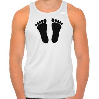 Footprint Men's Basic Ringer T-Shirt