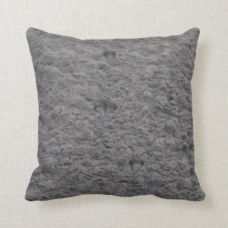 Footprint pillow