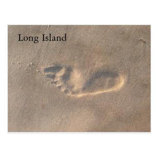 Footprint Postcard