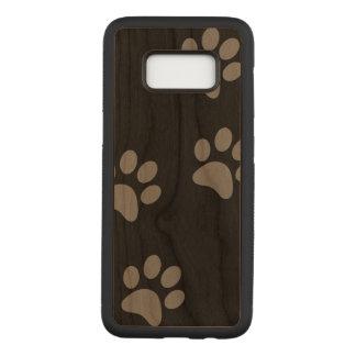 Footprint Samsung Galaxy S8 Slim Cherry Wood Case