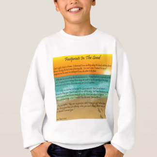 Footprints in the Sand Sweatshirt