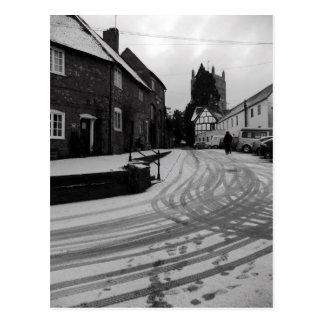 Footprints Postcard