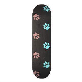 Footprints Skate Board Deck