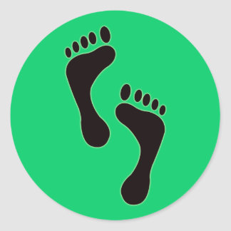 Footprints Sticker