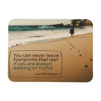 Footprints That Last Magnet