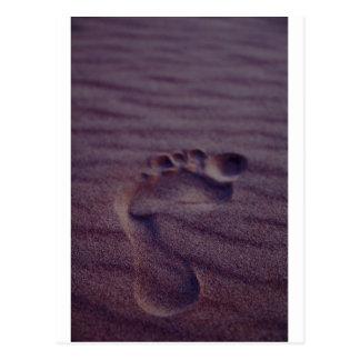 Footstep Postcard