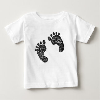 Footsteps Baby T-Shirt