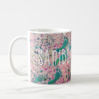 Footsteps in the Sand - Sanibel Island Florida Coffee Mug