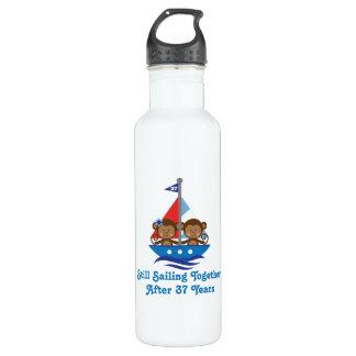 For 37th Wedding Anniversary Monkeys 710 Ml Water Bottle