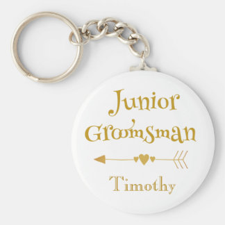 For a Junior Groomsman Keychain