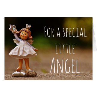 For a little Angel Greeting Card