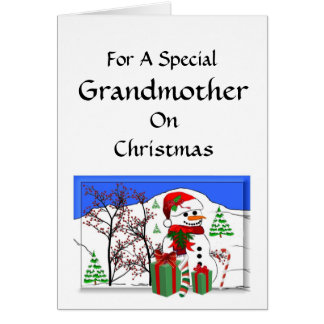 For a special Grandmother Card
