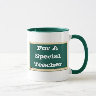 For A Special Teacher Chalkboard Mug