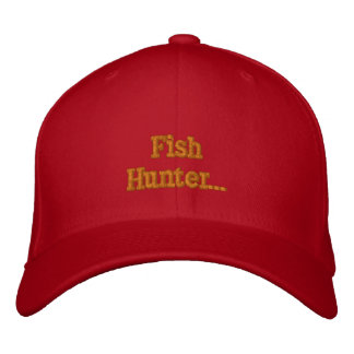 For All Fisermen and Women Embroidered Hat