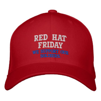 FOR ALL SOLDIERS... EMBROIDERED HAT