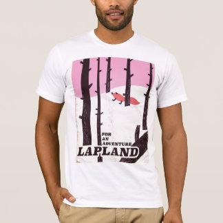 For an adventure Lapland vintage poster T-Shirt