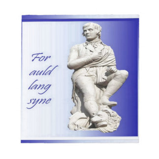 For Auld Lang Syne Notepad