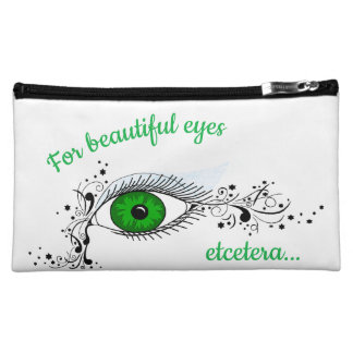 For Beautiful Eyes, Etcetera Cosmetic Bag