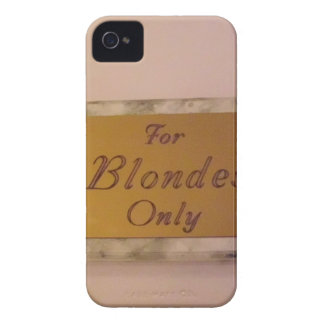 For Blondes Only iPhone 4 Covers