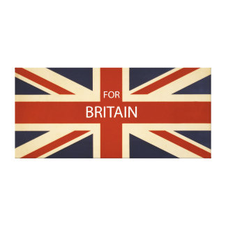 For Britain Canvas Print