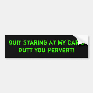 For Bumper Lookers Bumper Sticker