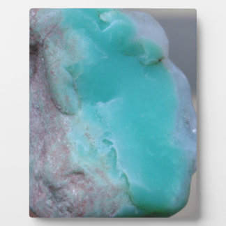 For chrysoprase lovers plaque