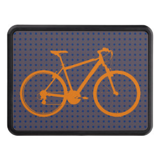 for cyclists bicycle-themed trailer hitch cover